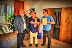 Von links: Ralf Chadt-Rausch, Franz Jittenmeier u. Herbert Bastian